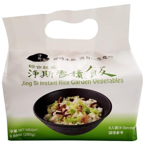 《淨斯》香積飯4入裝(綜合蔬菜-280g/包)