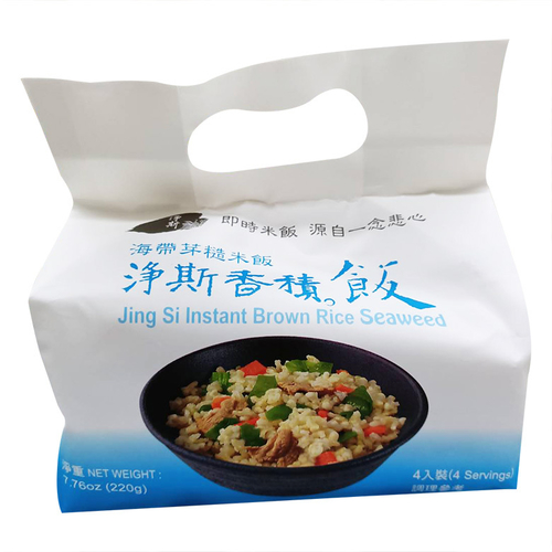 《淨斯》香積飯4入裝(海帶芽-220g/包)