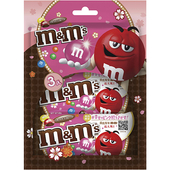 《M&M's》粉紅限定版三入裝-(40gx3)(牛奶巧克力)