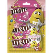 《M&M's》粉紅限定版三入裝-(40gx3)(花生巧克力)