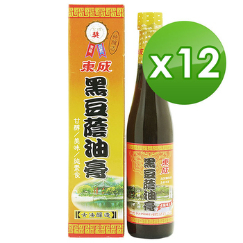 《東成》黑豆蔭油膏 (430ml/瓶)(12瓶)