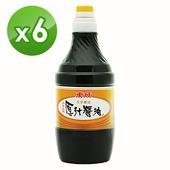 《東成》原汁醬油(1600ml/瓶)(6瓶/組)