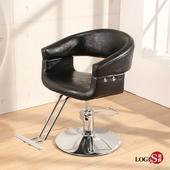 LOGIS -PRETTY造型師剪髮椅 美髮椅 美容椅 沙龍椅 化妝椅 Z889(黑)