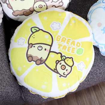 《BREAD TREE》麵包樹造型抱枕多用毯-品牌聯名獨家合作(檸檬派對)