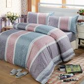《Victoria》單人三件式純棉被套床包組-繁花(3.5*6.2尺)