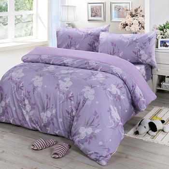 《Victoria》單人三件式純棉被套床包組-雅致(3.5*6.2尺)