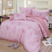 《Victoria》純棉加大五件式床罩組-馨香(6*6.2尺)