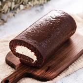 《預購-樂活e棧》微澱粉甜點系列-巧克力鮮奶油蛋糕捲500g/條(共1條)
