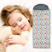 夢想森林兒童睡袋(花色隨機)