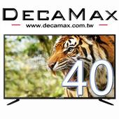 《DECAMAX》40型FHD低藍光顯示器 + 數位視訊盒(DM-40S6D9)(DM-40S6D9)