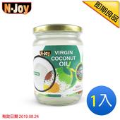 《N-Joy 恩久》500ml有機冷壓初榨椰子油(即期品20190824)(1入)