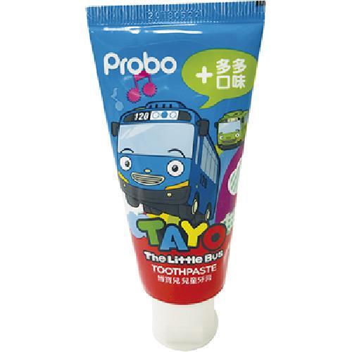 《博寶兒》兒童牙膏-80g/條(TAYO多多口味)