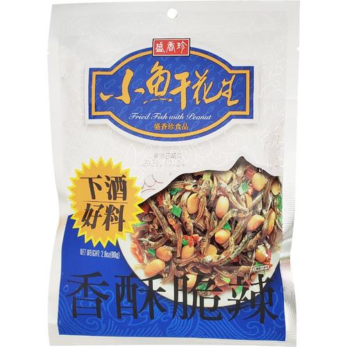 《盛香珍》小魚干花生(80g/包)