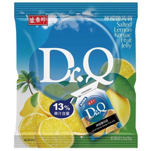 盛香珍 Dr.Q檸檬鹽蒟蒻(265g/包)