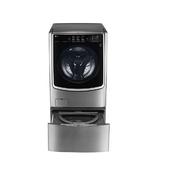 《LG》WiFi滾筒洗衣機(蒸洗脫烘) 典雅銀 / 21公斤+2.5公斤 F2721HTTV TWINWash