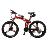 《CARSCAM》EB1 26吋公路越野36V鋰電折疊自行車