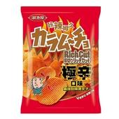 《卡辣姆久》厚切洋芋片(極辛口味-70g/包)