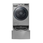 《LG》WD-S18VCD TWINWash 雙能洗(蒸洗脫烘) 典雅銀 / 18公斤+2.5公斤