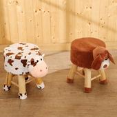 《BuyJM》可愛動物造型小椅凳/板凳(乳牛)