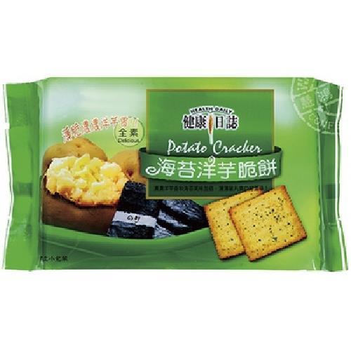 《健康日誌》脆餅-192G/包(海苔洋芋)