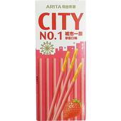 《城市一族》棒狀餅乾-25g/個(草莓口味)