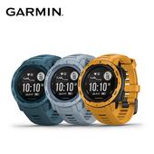 《Garmin》Instinct 軍規級堅固GPS運動心率手錶 新色(日耀黃)