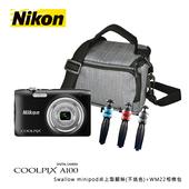 《Nikon》Coolpix A100(公司貨)(黑色)