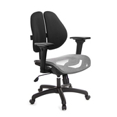 《GXG》GXG 短背網座 雙背椅 (3D升降扶手)  TW-2801 E9(請備註顏色)