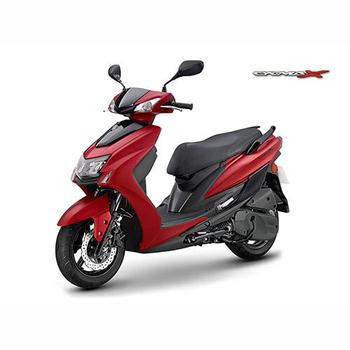 《YAMAHA山葉》5代新勁戰CygnusX 125 雙碟版- 2019年新車(NEW-紅黑)