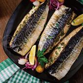《欣明生鮮》挪威薄鹽鯖魚切片(150公克±10%/1片)(*1包)