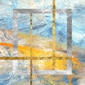 《晶瓷畫》抽象派30HTJC00047(50X50X3.5cm)