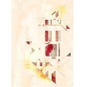 《晶瓷畫》幾何線條 32HTJC(2)-A(50X70X3.5cm)