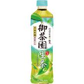 《御茶園》日式生茶(550ml*4瓶/組)