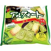 《北日本》抹茶巧克力帆船餅(157g)