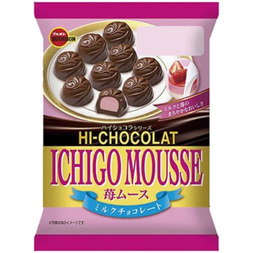 《北日本》草莓慕斯夾心巧克力(47g)