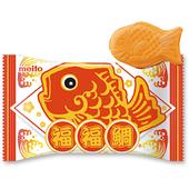 《名糖Meito》福福鯛脆餅-巧克力夾心口味(16.5g)