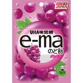 《UHA味覺糖》e-ma喉糖-50g(葡萄味)