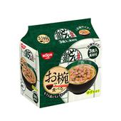 《日清》碗型麵-3食入/袋(丼兵衛烏龍-90G-即期2020.09.27)