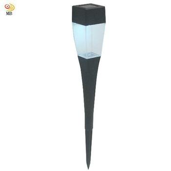 《月陽》晶透太陽能自動光控LED庭園燈草坪燈插地燈(Q375)