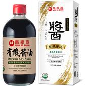 《萬家香》有機醬油(450ml/盒)
