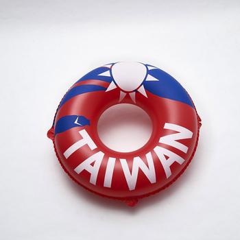 """《SAIN SOU》36""""泳圈-A36813(紅藍白色)"""