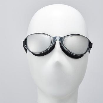 《SAIN SOU》電鍍泳鏡-後扣式頭帶-A34807(01-黑色)