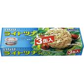 《稻葉》3入加鰹鮪魚罐(礦泉水)