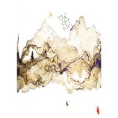 《晶瓷畫》中式墨彩 32HTJC(37)(50X70X3.5cm)