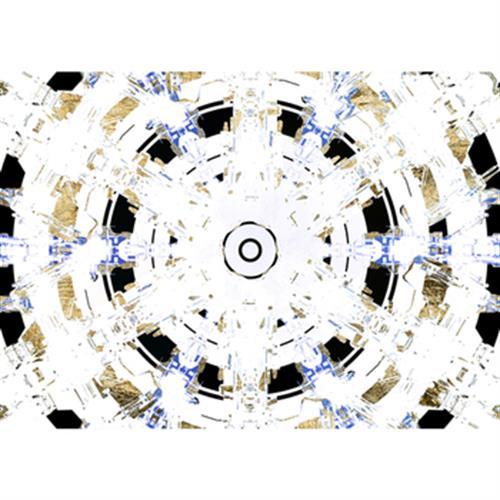 《晶瓷畫》同心圓 33HTJC(24)(50X70X3.5cm)