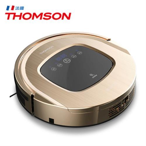 《THOMSON》智慧型機器人掃地吸塵器 TM-SAV09DS(金色)