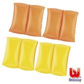 《艾可兒》Bestway顯眼亮色系兒童充氣手臂圈(亮麗橘)