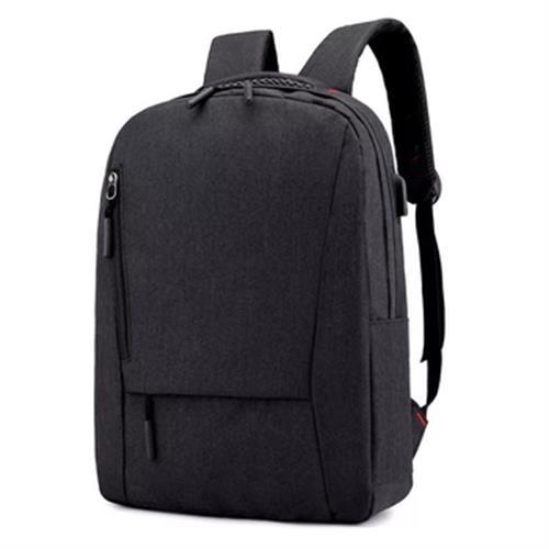 《免運》14吋筆電雙肩USB後背包 30*42*12cm(黑)