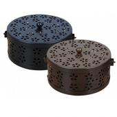 美形鏤空蚊香盒 15X7.5cm(黑)