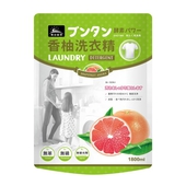 《朝日田野》柚子酵素洗衣精1800ml/包